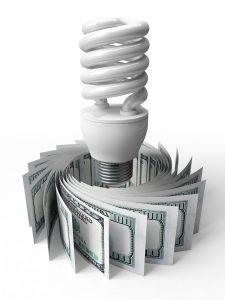 CFL-bulb-money