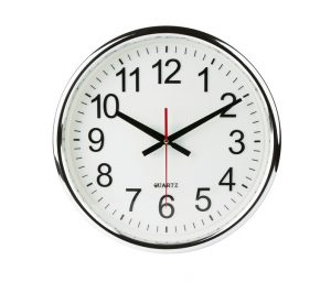 clock-imposed-on-white-background