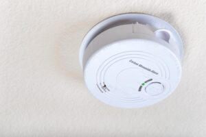 Ceiling mounted CO detector